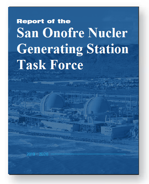 Report on the Levin Task Force San Onofre Nuclear Generating Station (SONGS)