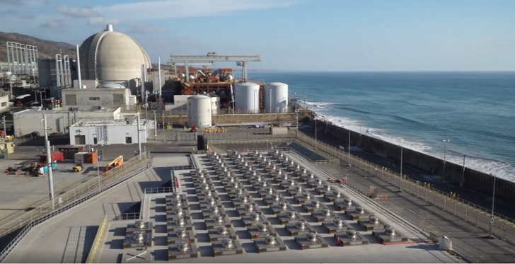 San Onofre, too close to the beach